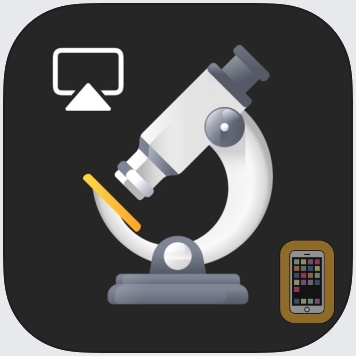 iMicroscope - Magnifying Glass by elklab UG (iPhone)