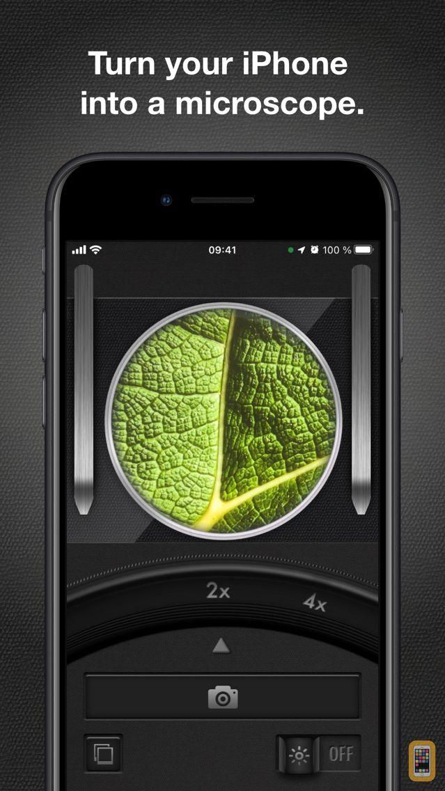 Screenshot - iMicroscope - Magnifying Glass
