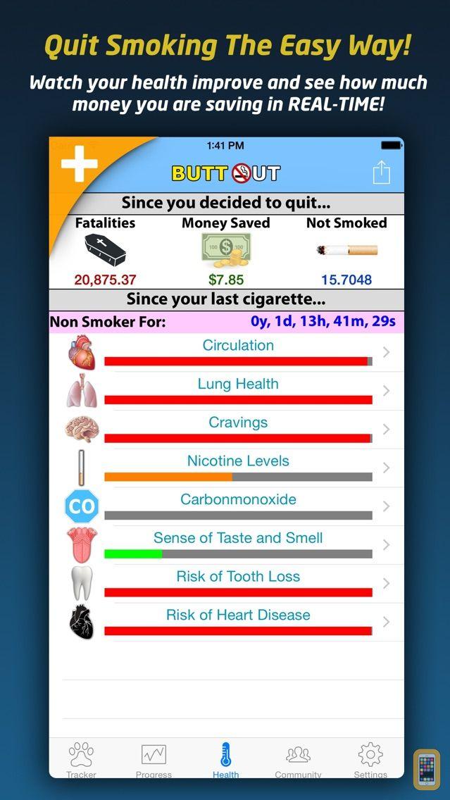 Screenshot - Quit Smoking - Butt Out Pro