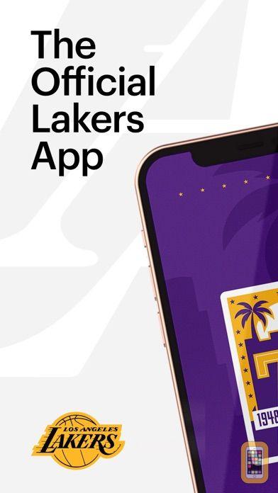 Screenshot - LA Lakers Official App