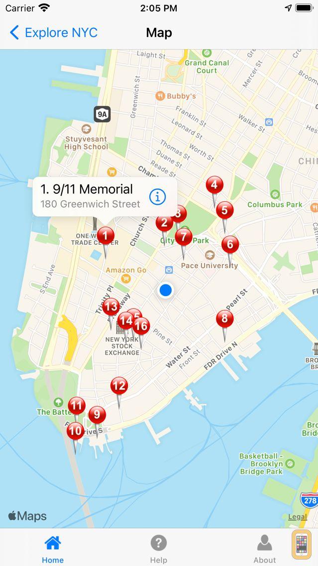 Screenshot - Explore NYC