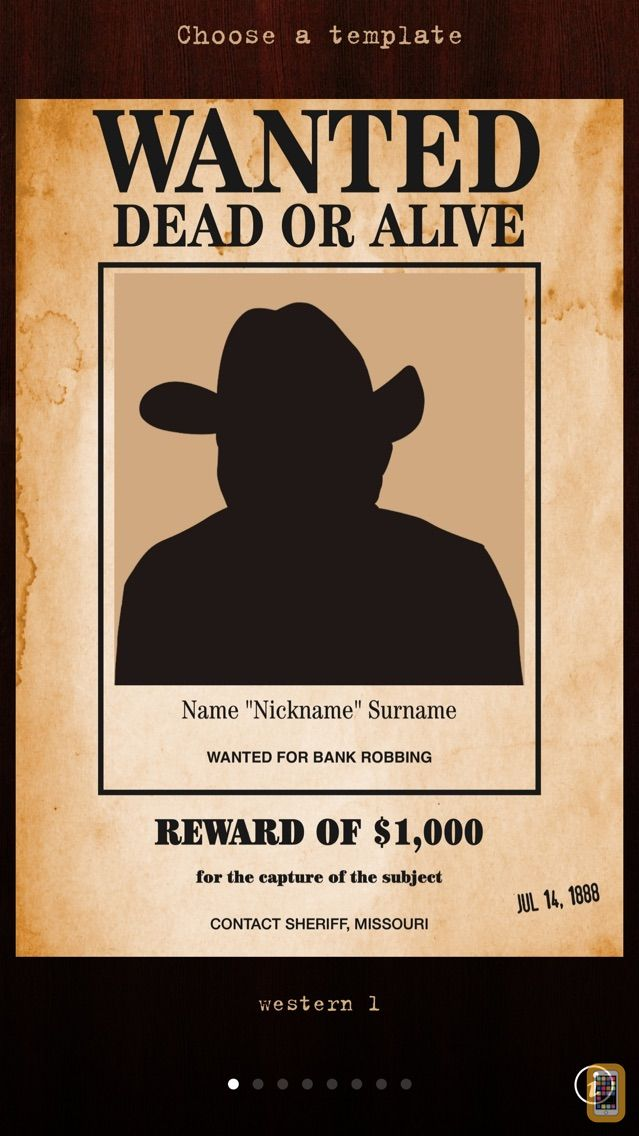 Screenshot - Wanted Poster Pro