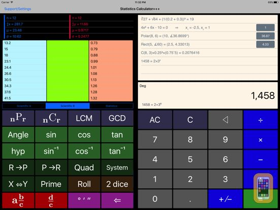 Screenshot - Scientific Calculator++