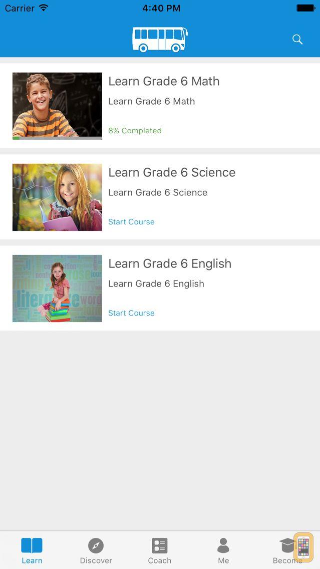 Screenshot - Complete Grade 6 by WAGmob