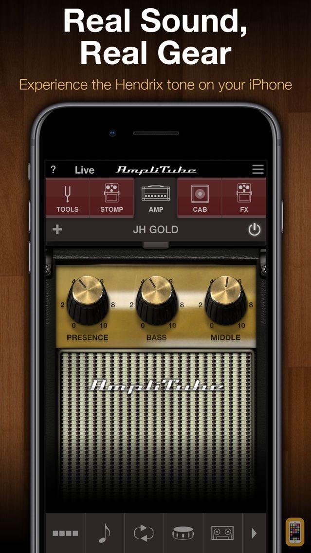 Screenshot - AmpliTube Jimi Hendrix™