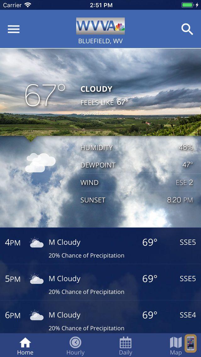 Screenshot - WVVA Weather
