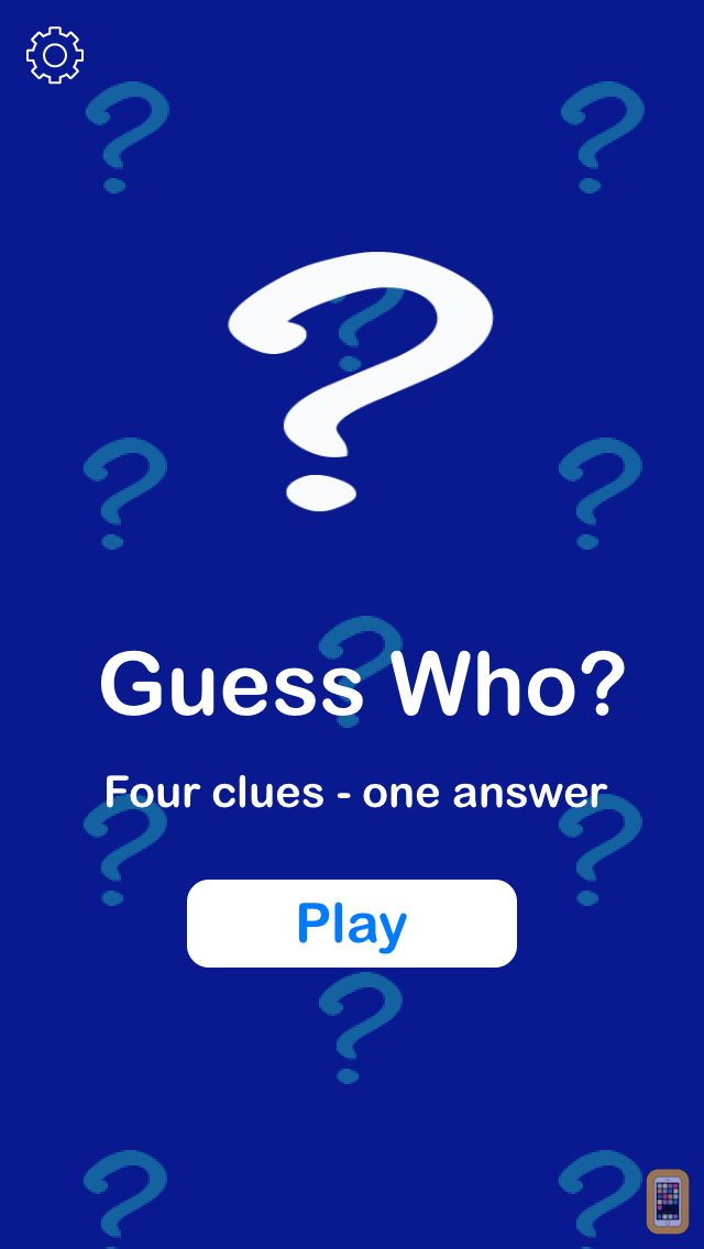 Screenshot - Guess Who? from I Can Do Apps