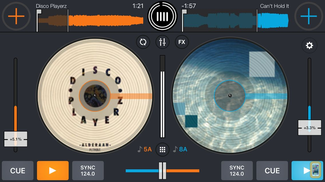 Screenshot - Cross DJ - dj mixer app
