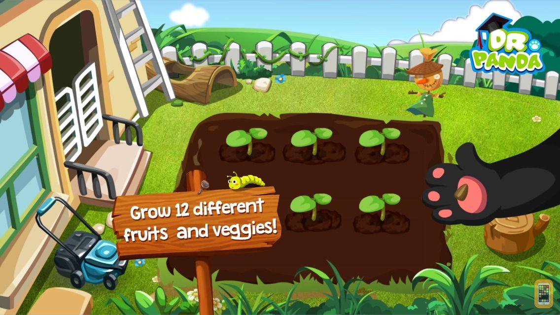 Screenshot - Dr. Panda Veggie Garden