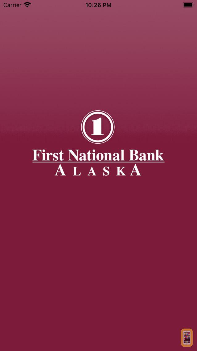 Screenshot - FNBA Mobile Banking