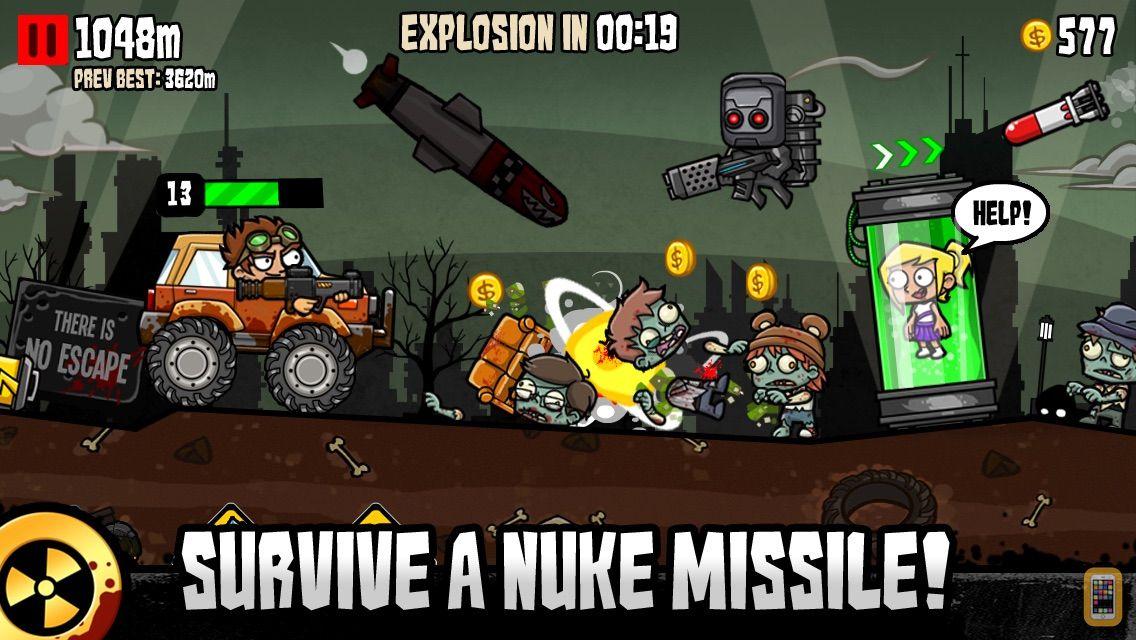 Screenshot - Nuclear Outrun