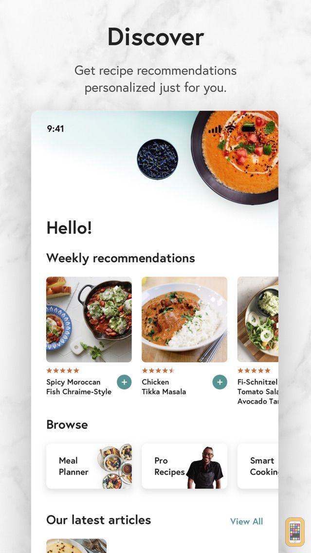 Screenshot - Yummly Recipes & Cooking Tools