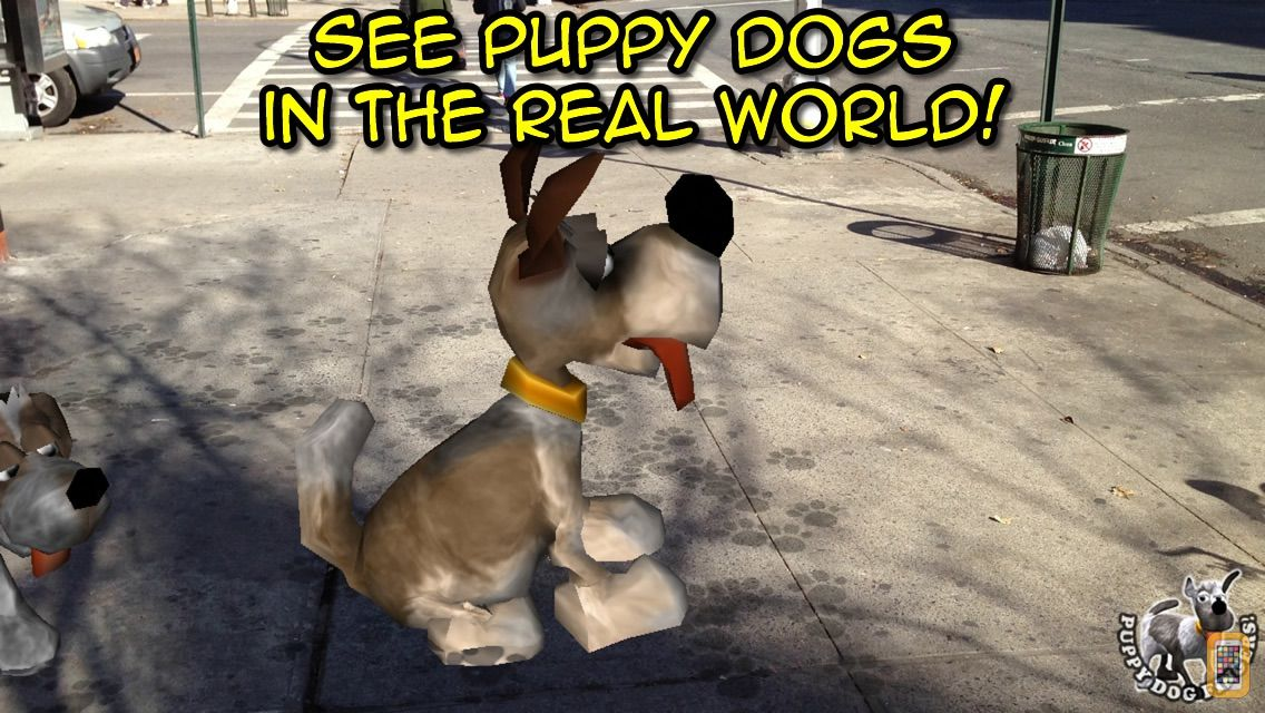 Screenshot - Puppy Dog Fingers! with Augmented Reality FREE