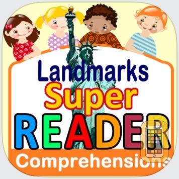 Reading Comprehension - Landmarks - Grade 2 & 3 - Super Reader by Power Math Apps LLC (Universal)