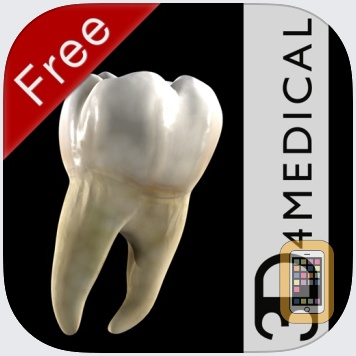Dental Patient Education Lite by 3D4Medical from Elsevier (iPad)