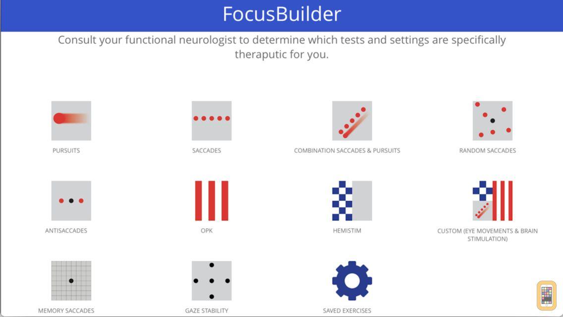 Screenshot - Focus Builder