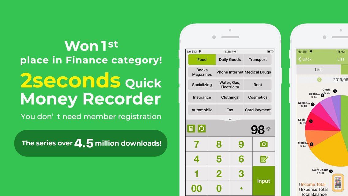 Screenshot - Quick Money Premium: Budgeting