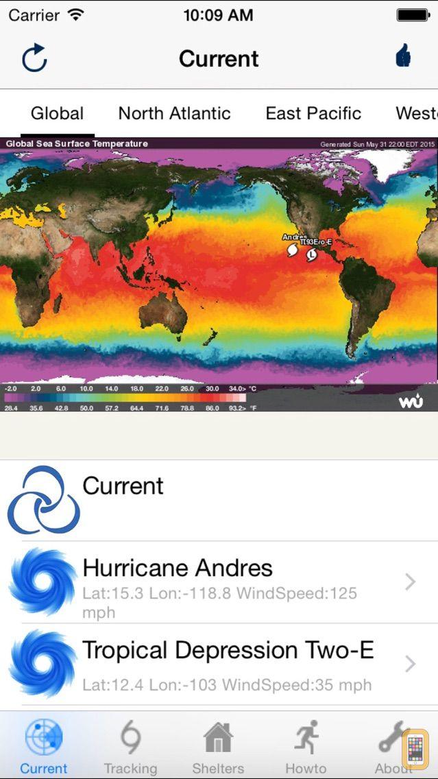 Screenshot - Hurricane Track & Outlook Pro