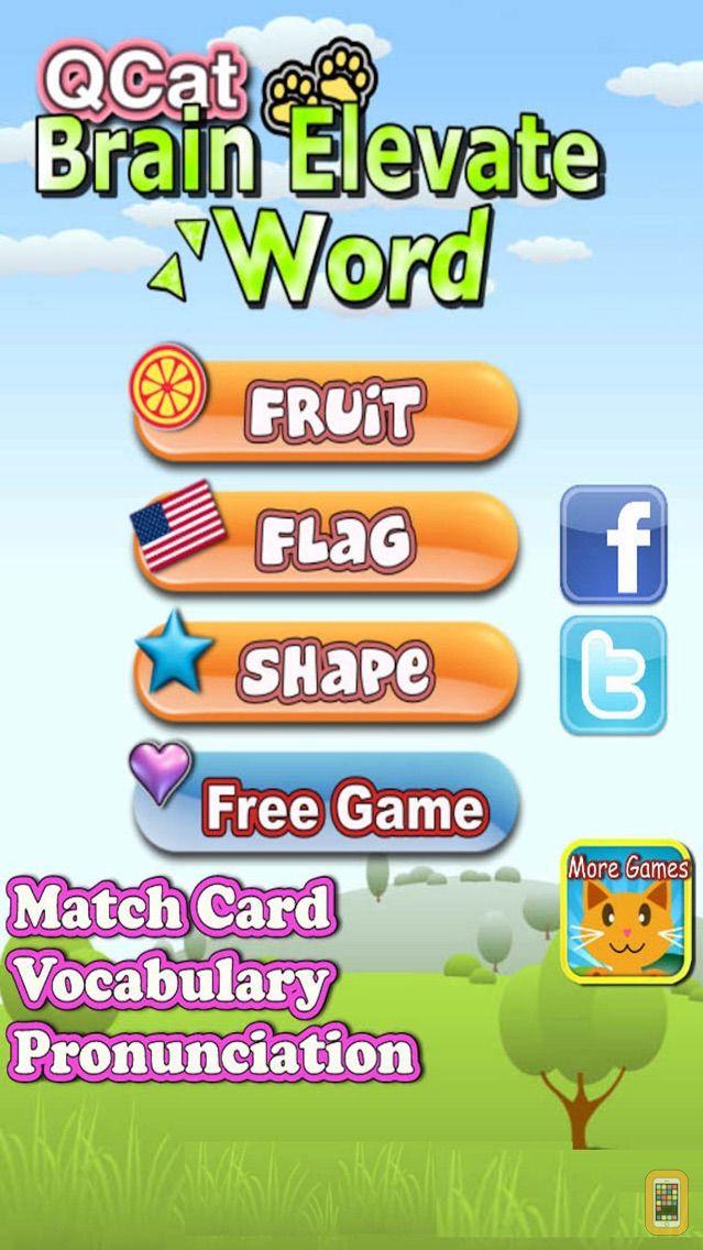 Screenshot - QCat - Preschool Elevate Brain & word education game for toddler and kid