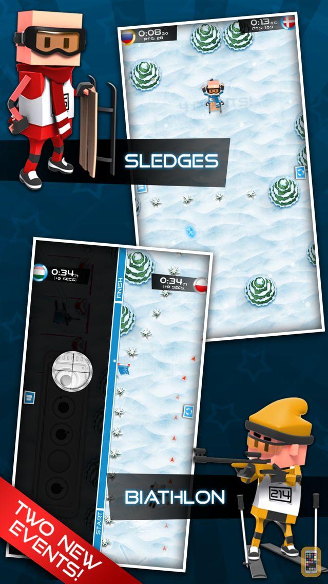Screenshot - Flick Champions Winter Sports