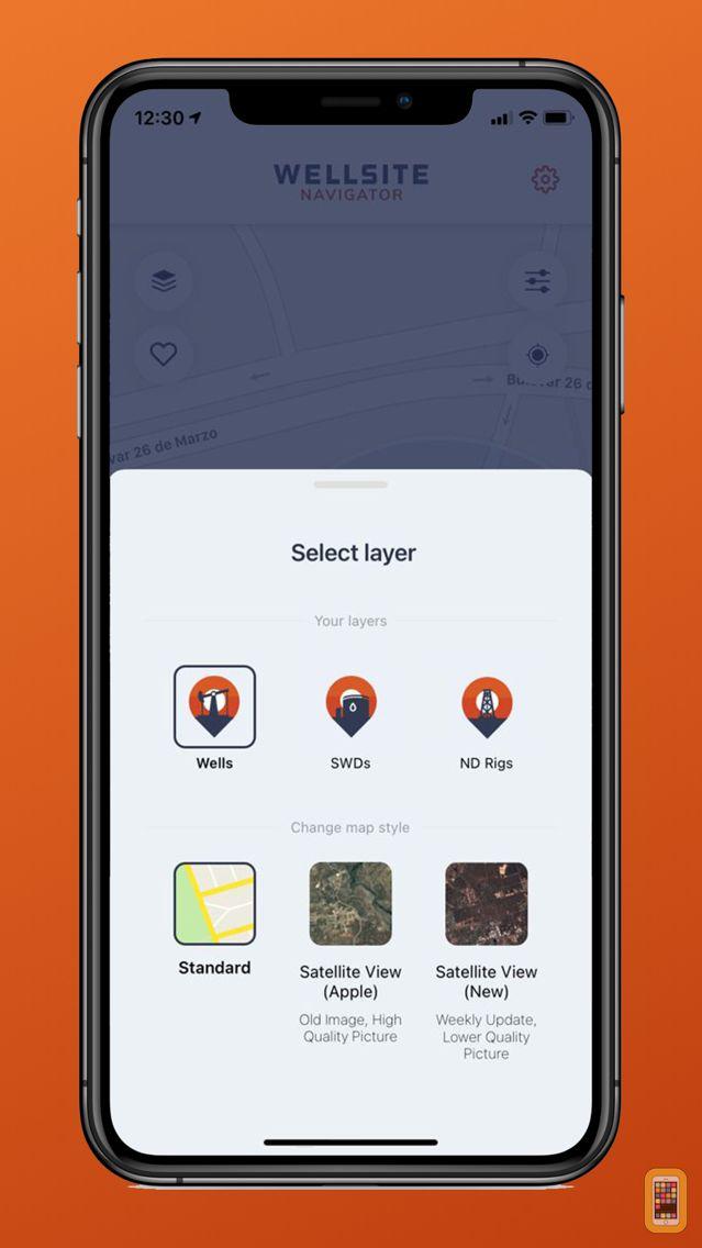 Screenshot - Wellsite Navigator