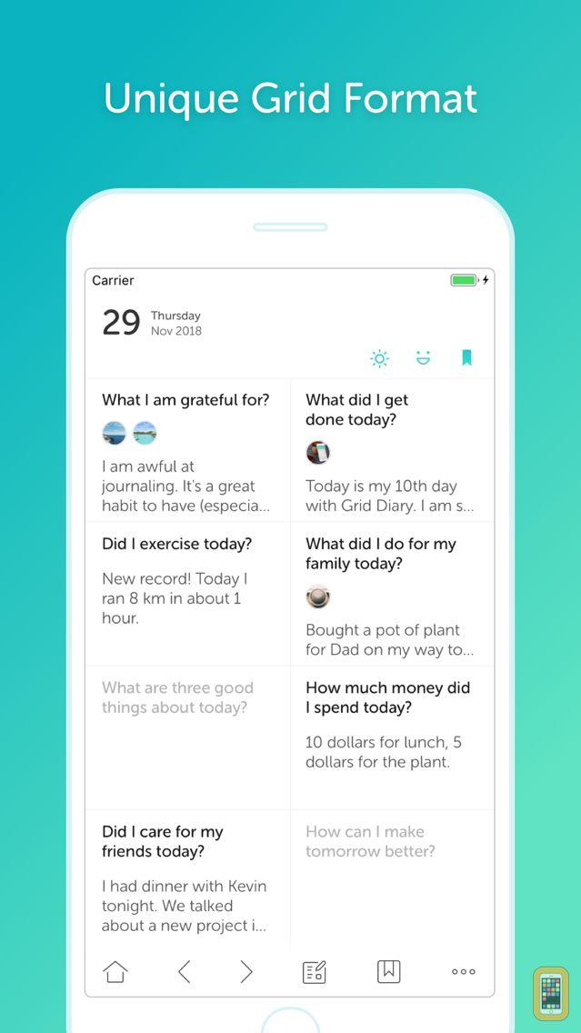 Screenshot - Grid Diary Classic