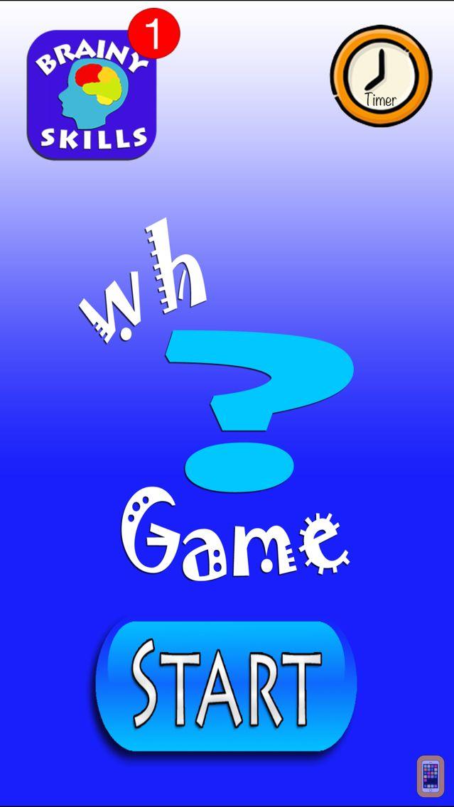 Screenshot - Brainy Skills WH Game