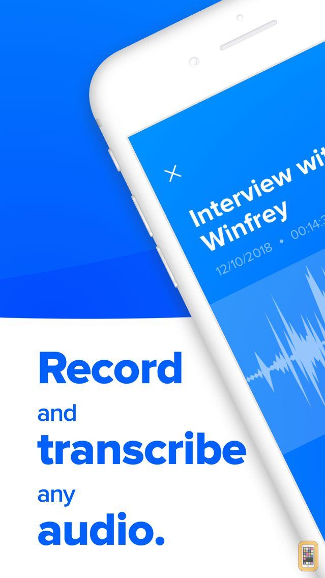 Screenshot - Rev Voice Recorder App
