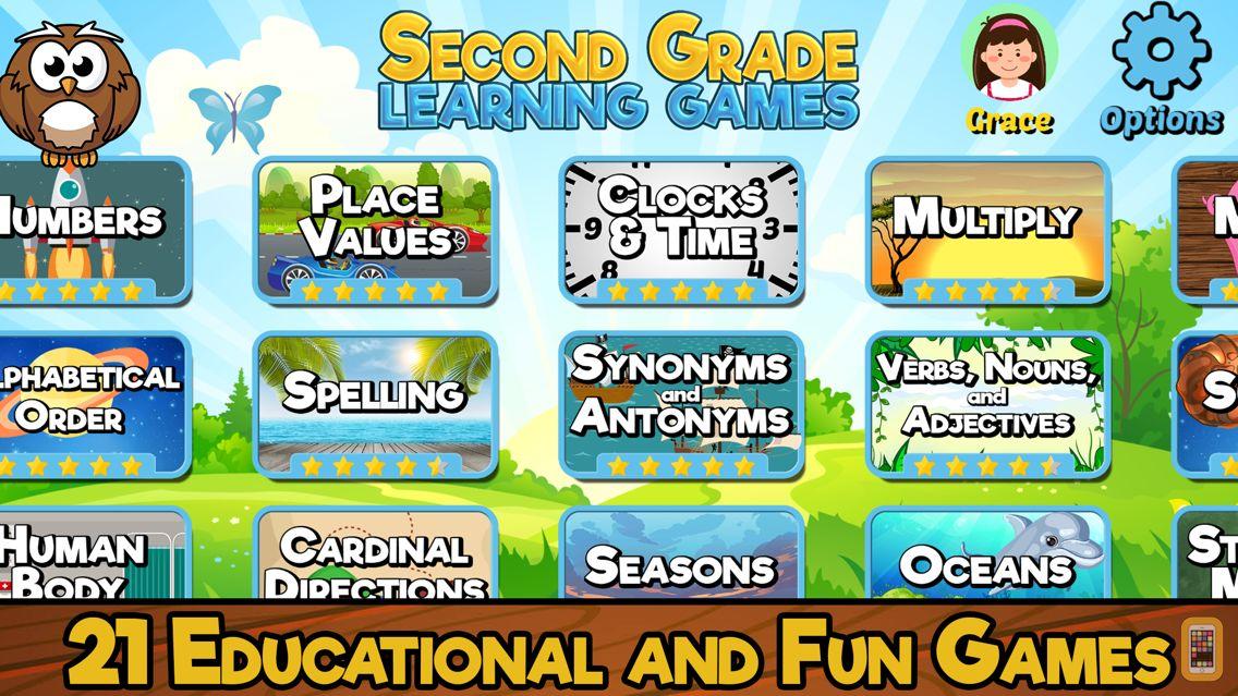 Screenshot - Second Grade Learning Games