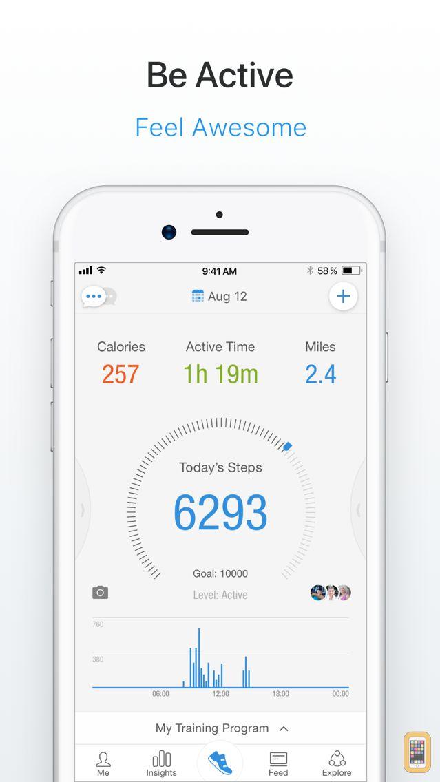Screenshot - Pacer Pedometer & Step Tracker