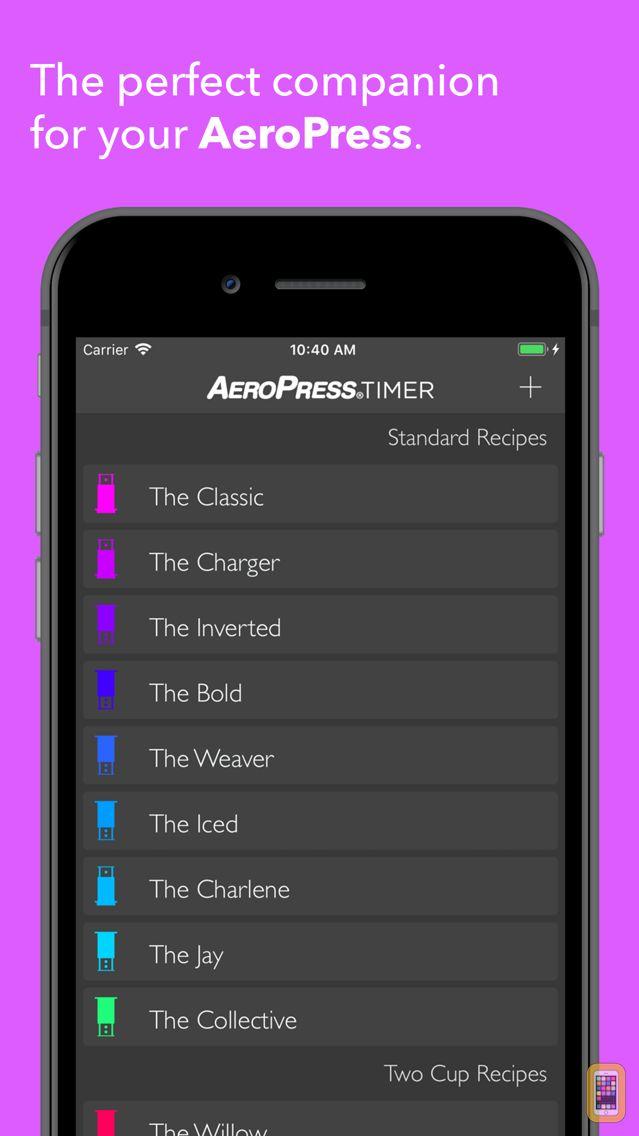 Screenshot - AeroPress Timer