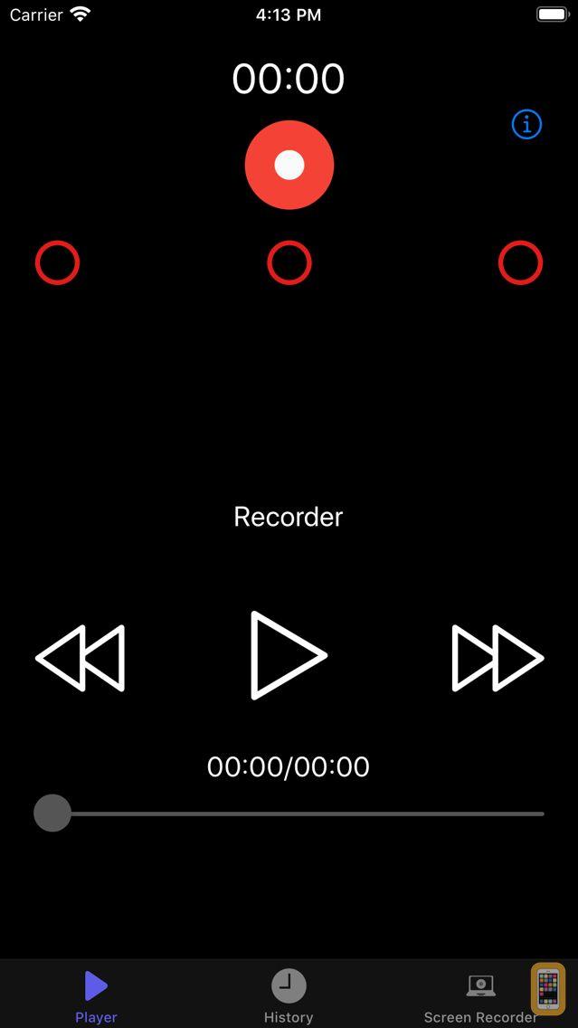 Screenshot - MP3 Voice Recorder ,MP3 player