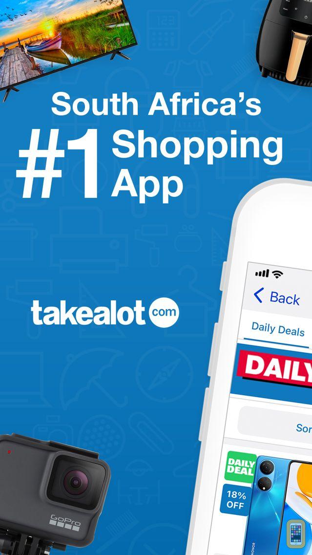 Screenshot - Takealot - Mobile Shopping App