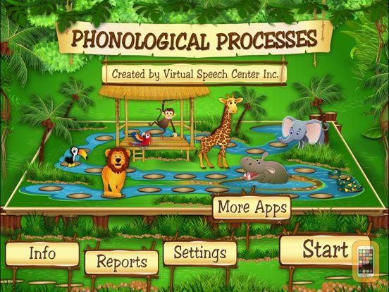 Screenshot - Phonological Processes