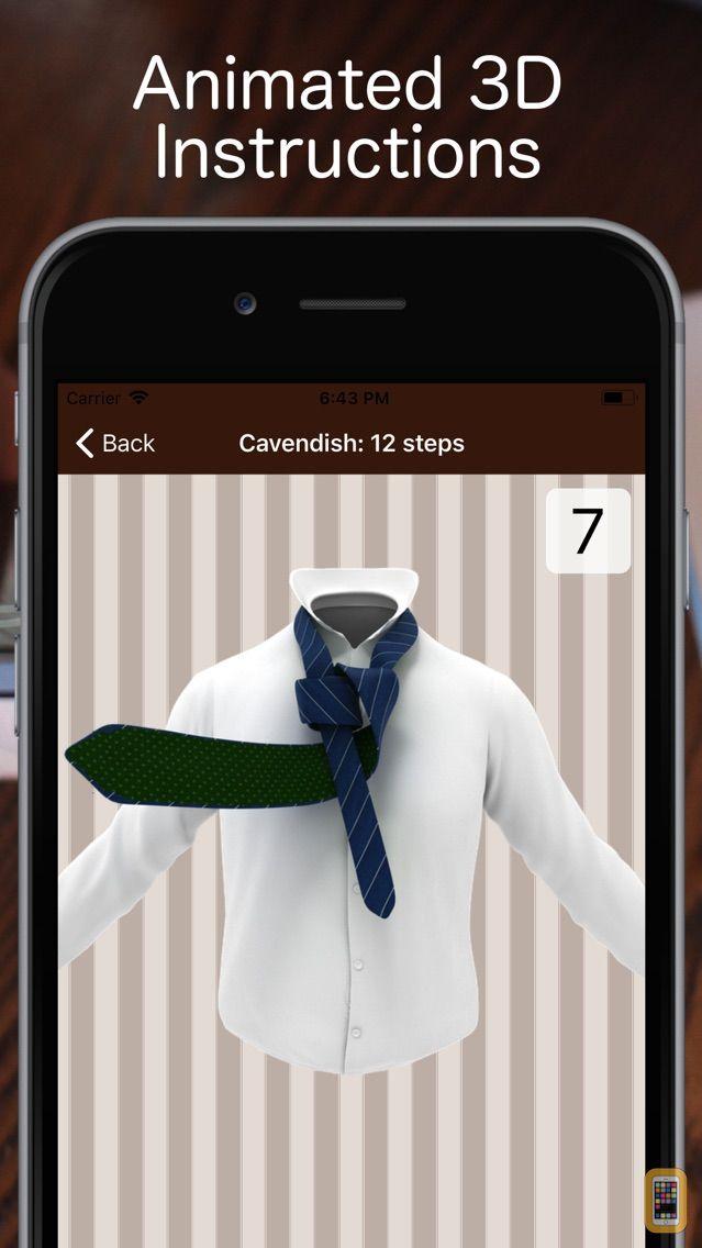 Screenshot - Tie a Necktie 3D Animated