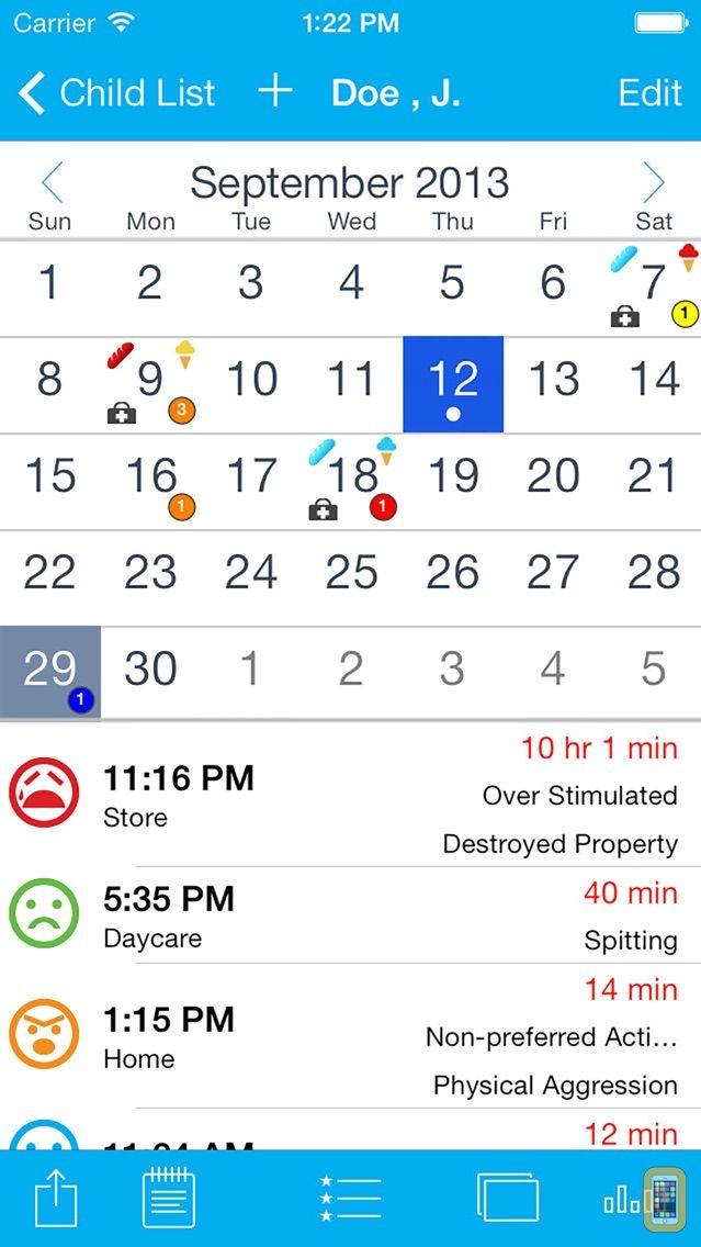 Screenshot - Tantrum Tracker
