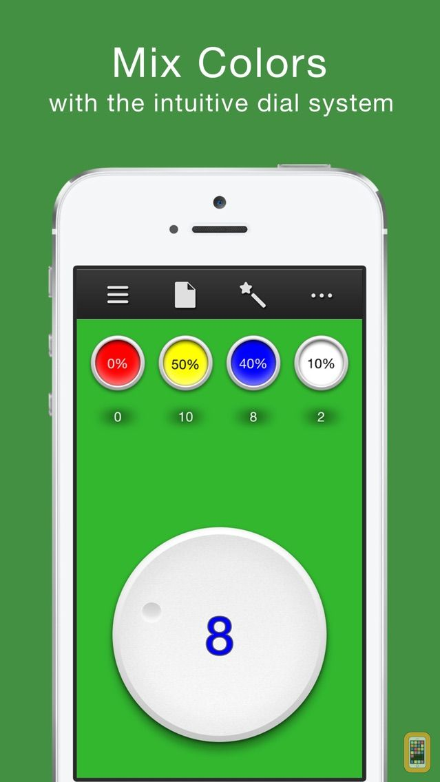 Screenshot - True Color - Color Mixing Assistant