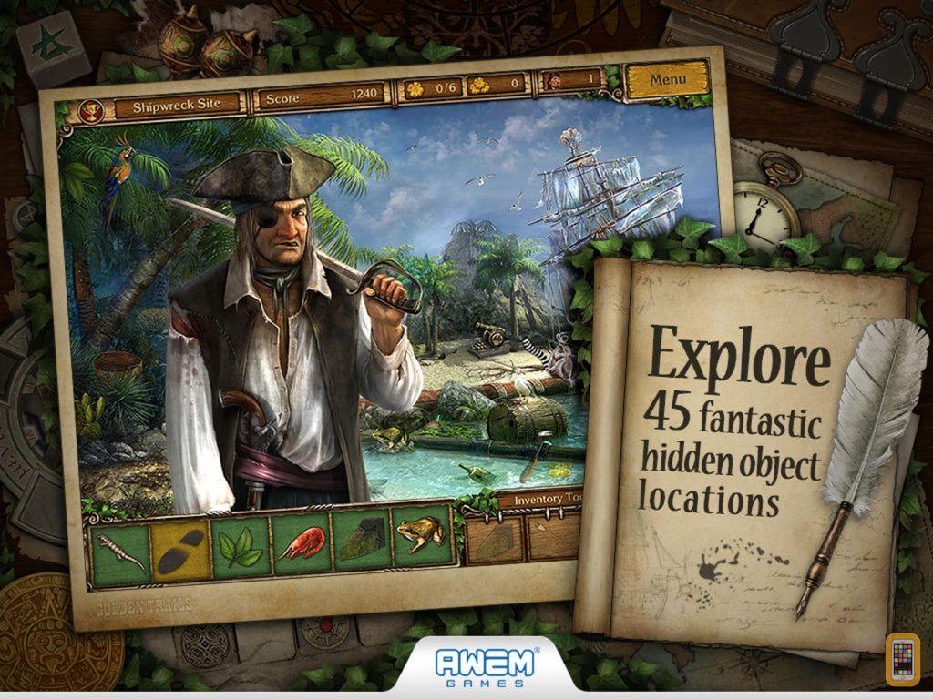 Screenshot - Golden Trails 2: Hidden Object Adventure (Premium)