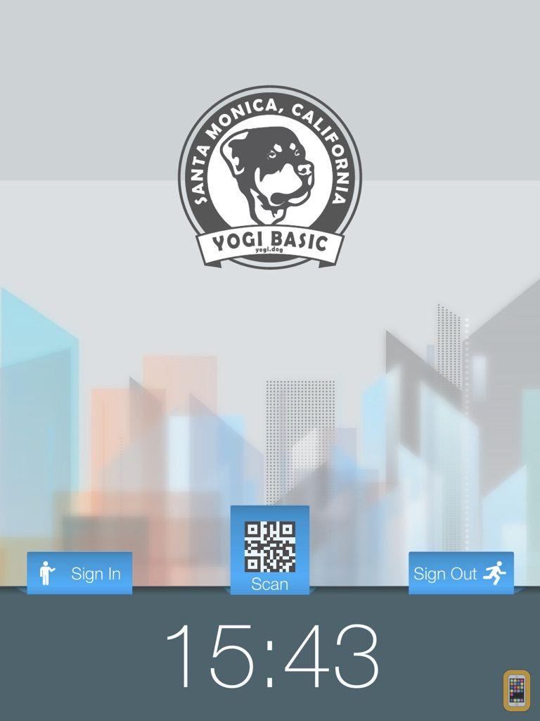 Screenshot - Inside - The App at your front desk