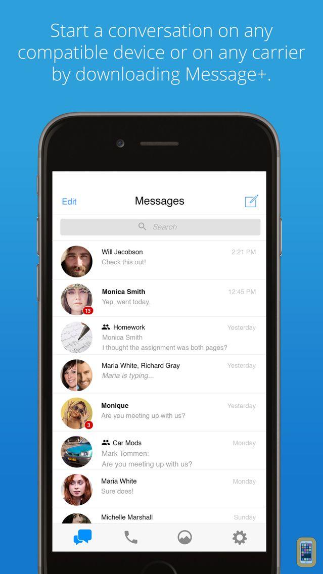 Screenshot - Message+