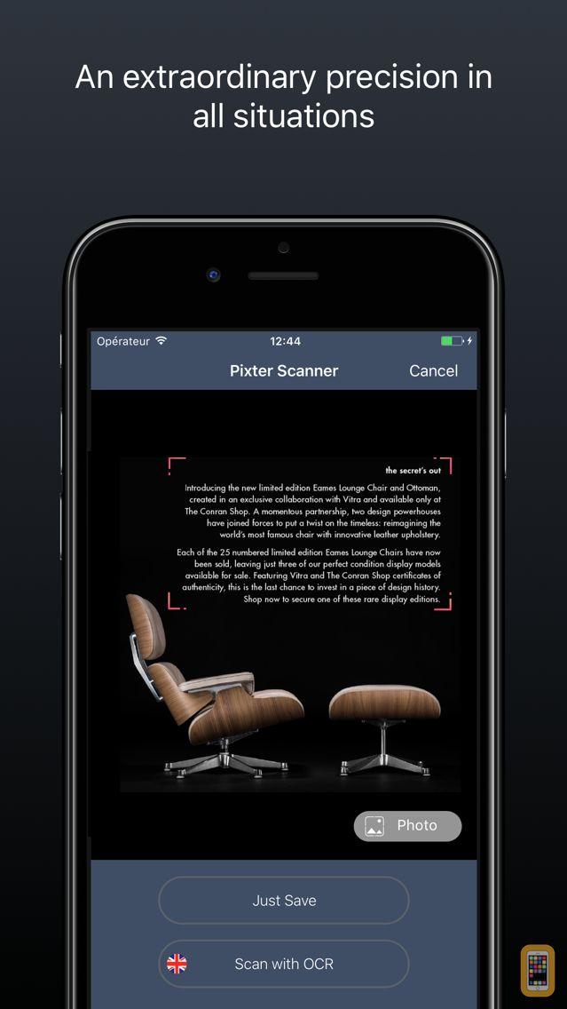 Screenshot - Pixter Scanner OCR Document