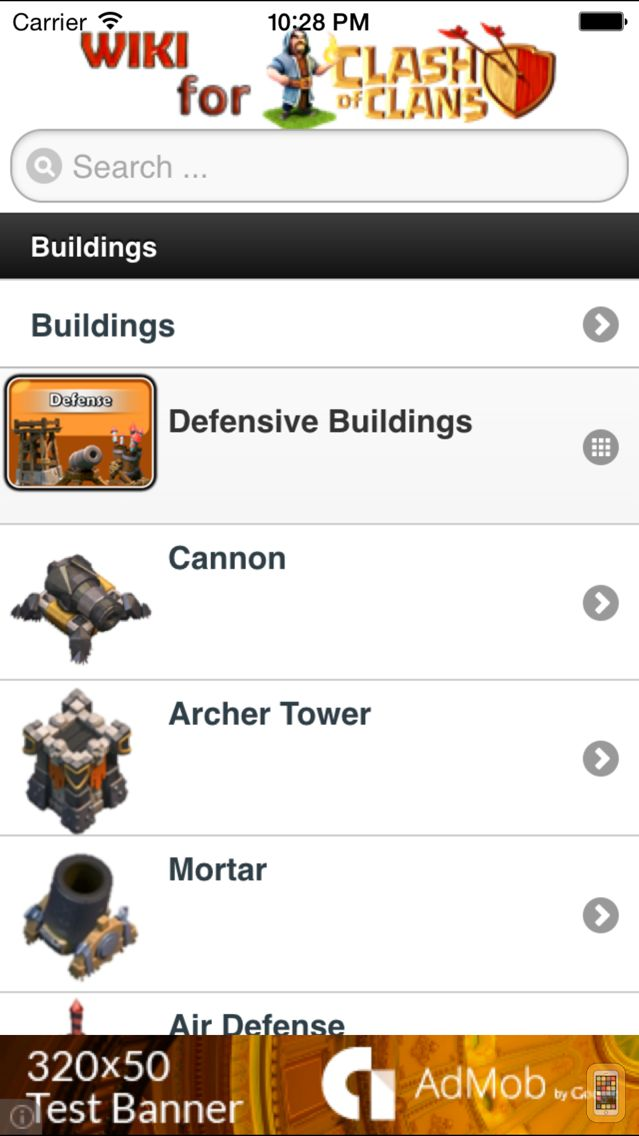 Screenshot - Wiki for Clash of Clans