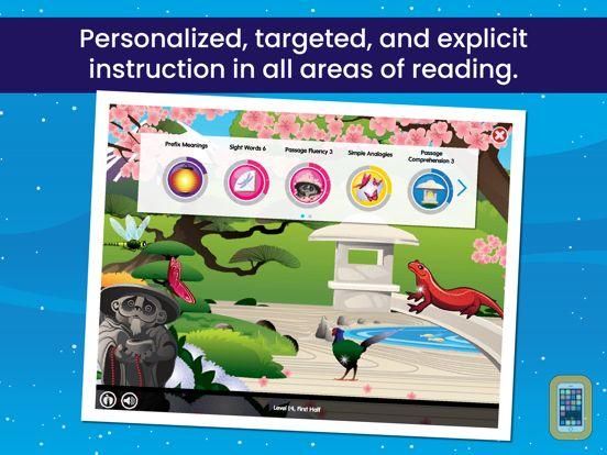 Screenshot - Lexia Core5 Reading