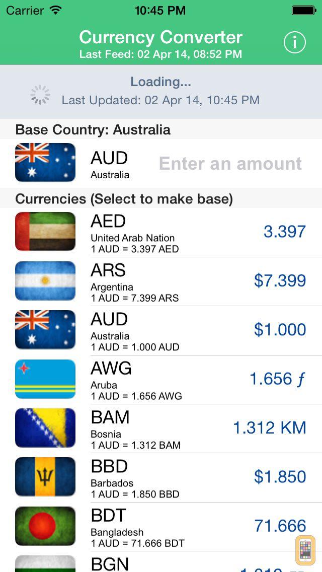 Screenshot - Currency Converter