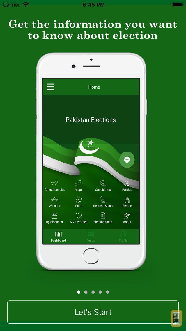 Screenshot - News for Pakistan Elections 2013