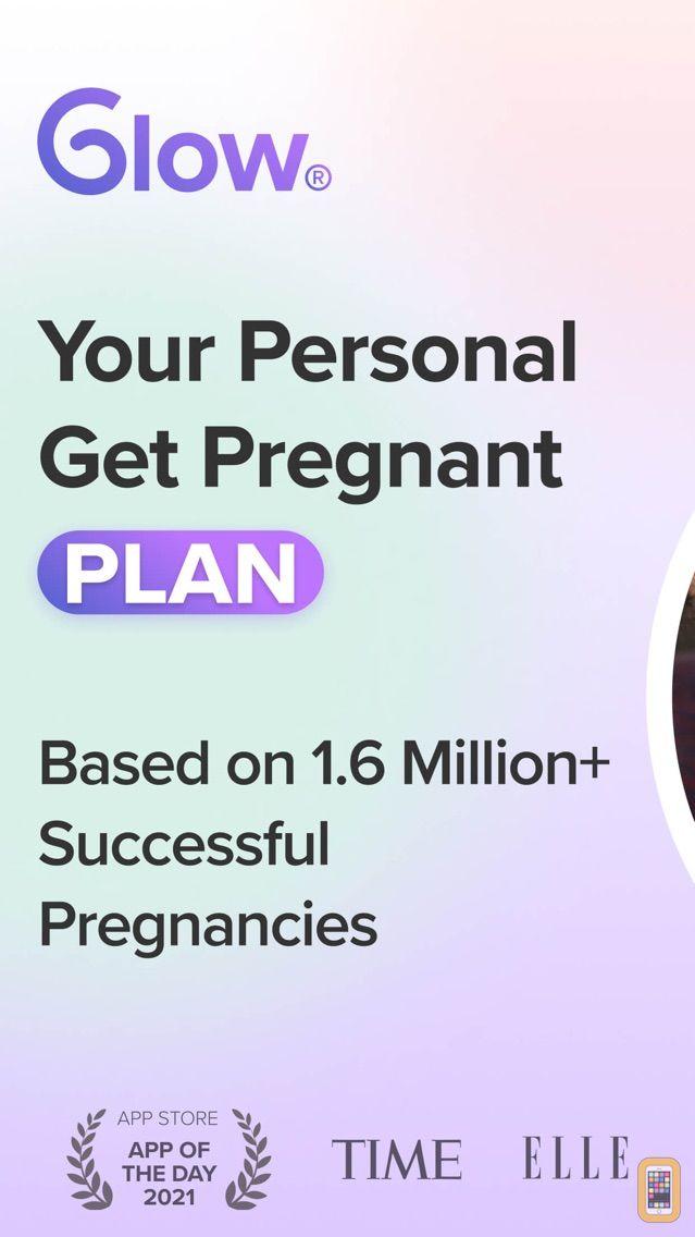 Screenshot - Glow Period, Fertility Tracker
