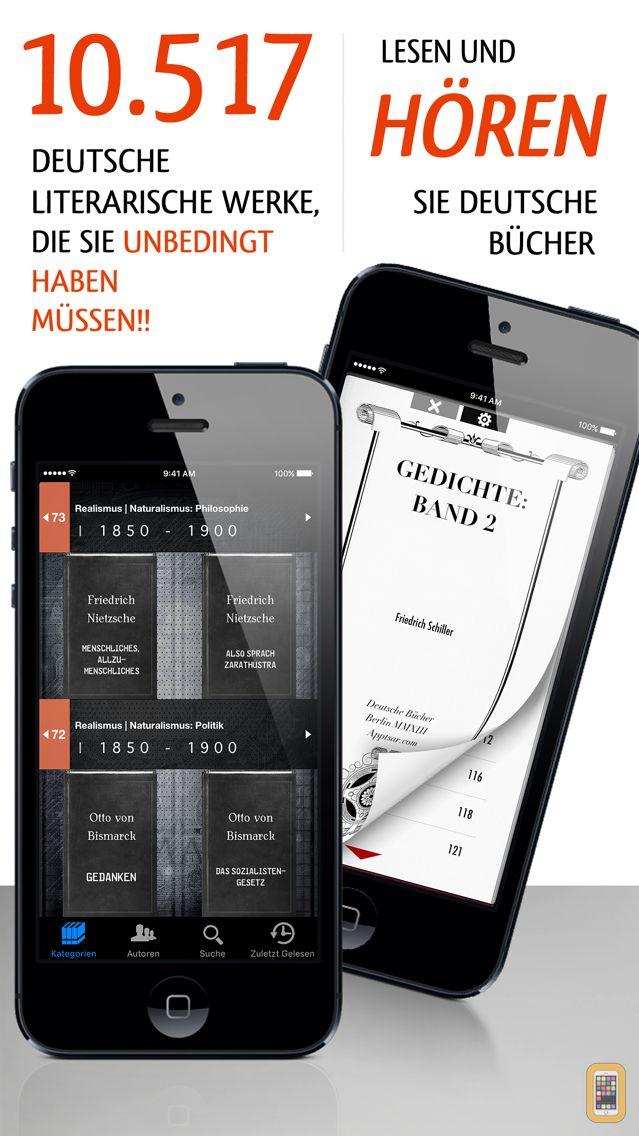 Screenshot - Deutsche Bücher