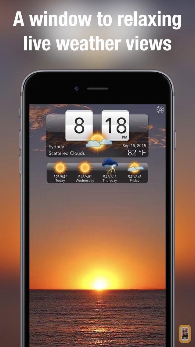 Screenshot - Living Weather HD +