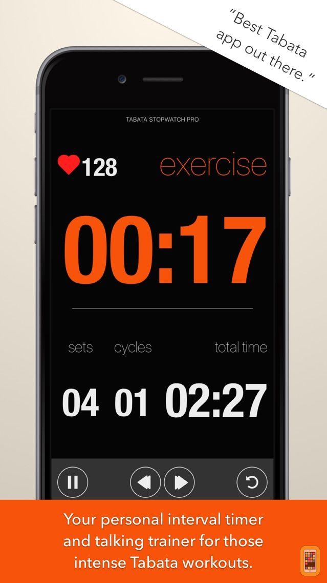 Screenshot - Tabata Stopwatch Pro (Paid)
