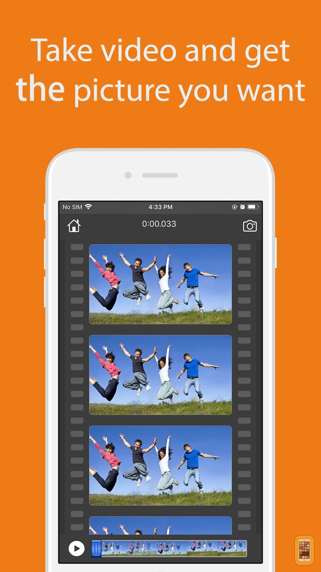 Screenshot - Video to Photo Grabber-Extract video frame easily
